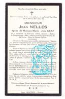 DP Jean Nelles ° Verviers 1881 † Beho Gouvy 1944 X Marie Julia Graf - Andachtsbilder