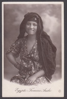 Egypt - Young Pretty Arab Girl, Real Photo - Persons