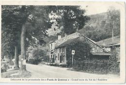"""Amel - Débouché De La Promenade Des """"Fonds De Quareux"""" - Grand'route Du Val De L'Amblève - Amblève - Amel"""
