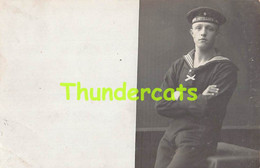 CPA CARTE DE PHOTO ARTILLERIE HELGOLAND MARIN MARINE 1912 - Regiments