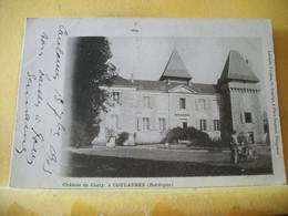 24 9771 CLICHE ASSEZ RARE CPA 1903 - VUE DIFFERENTE N° 2 - 24 CHATEAU DE CONTY, COULAURES - EDITEUR O. DOMEGE, PERIGUEUX - Castelli