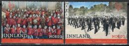 Norwegen Norway 2018. Mi.Nr. 1968-1969, Used O - Usati