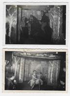 PHOTOS ORIGINALES : Spectacle De Prisonniers Belges Au Stalag VIIIA - War, Military