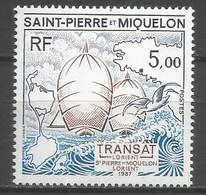 Timbre St Pierre Et Miquelon Neuf **  N 477 - Ongebruikt