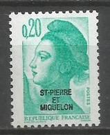 Timbre St Pierre Et Miquelon Neuf **  N 457 - Ungebraucht