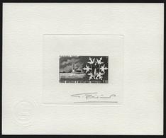 TAAF 1984 - Mi-Nr. 183 ** - MNH - Epreuve D`Artiste - Black - Eisforschung - Sin Dentar, Pruebas De Impresión Y Variedades