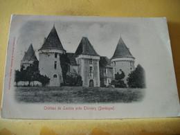 24 9783 CPA 1902 - 24 CHATEAU DE LAXION PRES THIVIERS. EDITEUR O. DOMEGE, PERIGUEUX - ANIMATION - Altri Comuni