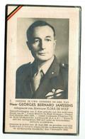 Lot 094 Oorlogsslachtoffer  Janssens Georges Aalter Gesneuveld Afrikaanse Goudkust 7 November 1943 - Devotieprenten