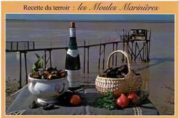 Recette Du Terroir : Les Moules Marinières - éditions Marcou - Neuve - Recipes (cooking)