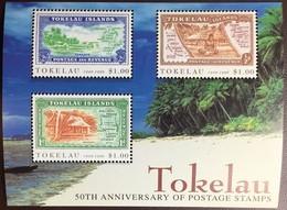 Tokelau 1998 Stamp Anniversary Minisheet MNH - Tokelau
