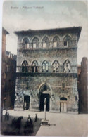 SIENA - PALAZZO TOLOMEI - BARROCCI /CARROZZE - Siena