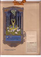 1920 Calendar Northwestern National Bank Women's Department, Print In Art Nouveau Passe-partout - Big : 1901-20