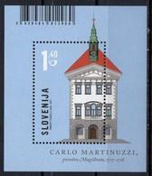 Slovenia 2017. Magistrat By Carlo Martinuzzi. Architecture.  MNH - Slowenien