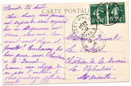 TARN CP 1912 GARE D'ALBY TYPE 04 - 1877-1920: Periodo Semi Moderno