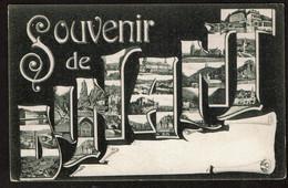 Souvenir De Dinant - Lettrage Multi-vues - Edit. G. Destexhe - 2 Scans - Dinant