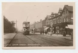 Manchester, Upper Brooke Street, Tramway ( 2 Scans ) - Manchester