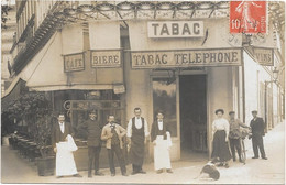 CARTE PHOTO A IDENTIFIER -    CAFE-TABAC - Foto's