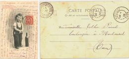 TARN CP 1903 PUTCELCI + BOITE URBAINE  C - 1877-1920: Periodo Semi Moderno