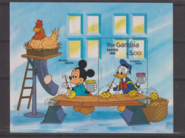 Disney Gambie 1984 BF 10 ** MNH - Disney