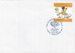 ARGENTINA. FIFA WORLD CUP GERMANY 2006, COUPE DU MONDE FOOTBALL, ALLEMAGNE 2006. FDC ENVELOPPE.- LILHU - 2006 – Germany