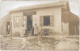 CARTE PHOTO A IDENTIFIER  -- MARCHAND DE CYCLES ET REPARATION Maison  ANARIEUX - Photos