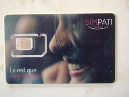 SIM GSM   MEXICO   VERY DIFFICULT   SIMPATI TOP MINT - Mexico