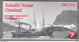 GREENLAND GROENLAND 1998 Ships Booklet MNH(**) READ  #B40 - Markenheftchen