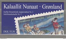 GREENLAND GROENLAND 1997 Christmas Booklet MNH(**) READ  #B41 - Markenheftchen