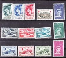 Maroc, Morocco 1958/1959 Années Complètes 383/395  Postes  Neuf ** TB MNH - Maroc (1956-...)