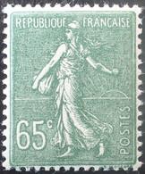 R1491/261 - 1927/1931 - TYPE SEMEUSE LIGNEE - N°234 NEUF** - 1903-60 Säerin, Untergrund Schraffiert