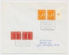 Treinblokstempel : Amsterdam - Hengelo X V 1970 - Non Classificati