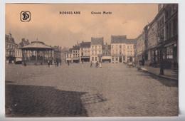 ROESELARE  GROOTE MARKT   ZIE SCAN 2  POSTZEGEL  VII OLYMPIADE 1920 - Roeselare