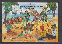 Disney Turks Et Caicos 1985 BF 66 ** MNH - Disney