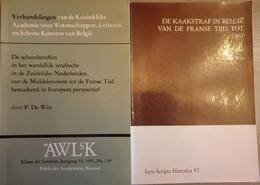 (OUD STRAFRECHT) De Schandstraffen In De Zuidelijke Nederlanden En België. 2 Volumes. - History