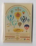 Pin's Montgolfière WARSTEINER 1997 - Mongolfiere