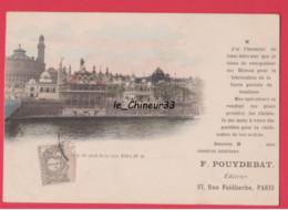 75011 -- Carte Commerciale De F. POUYDEBAT Editeur De Cartes Postales  17 Rue Faidherbe--Adressé A Son Imprimeur - District 11