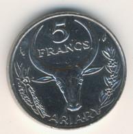 MADAGASCAR 1982: 5 Francs, KM 10 - Madagascar