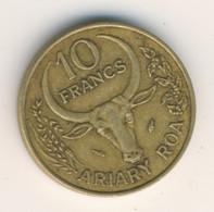 MADAGASCAR 1981: 10 Francs, KM 11 - Madagascar