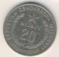 MADAGASCAR 1978: 20 Ariary, KM 14 - Madagascar