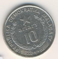 MADAGASCAR 1978: 10 Ariary, KM 13 - Madagascar