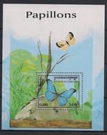 Cambodge - 1998 - Bloc Feuillet BF N° Yv. 142 - Papillons / Butterflies - Neuf Luxe ** / MNH / Postfrisch - Mariposas