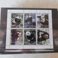 Rdc Congo 1997 Neuf ** Mnh Panda Feuillet - Ongebruikt