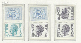COB  1762/1764e  MNH - Unused Stamps