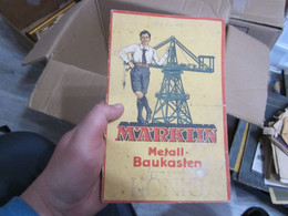 Marklin Metall Baukasten Stabil  8.6 Kg Kilogram Catalogs, Toys Packaging, See - Non Classificati