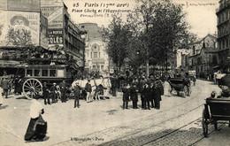 PARIS - 75 - Paris XVIIe Arr. - Place De Clichy Et L'Hippodrome - Other