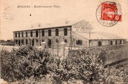 ROGNAC-13-ETABLISSEMENTS THERY - Sonstige Gemeinden