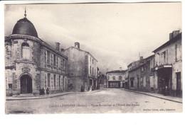 Lesparre, Place Marcadieu  Et Hôtel Des Postes - Lesparre Medoc