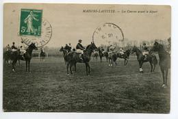 78 MAISONS LAFFITTE Hippisme Courses De Chevaux Avant Le Départ 1910      /D20-2018 - Maisons-Laffitte