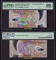 Vanuatu 1000 Vatu (2020), Commemorative, Polymer,folder,Low Number #52, PMG66 - Vanuatu