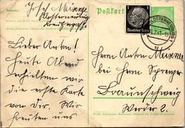 8727 - Niederösterreich - Ganzsache Mit Zusatzfrankatur , Klosterneuburg - Gelaufen 1941 - Stamped Stationery